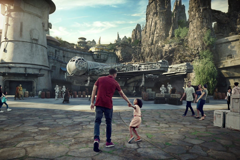 The History of disneyland continues with the opening of Galaxy's Edge