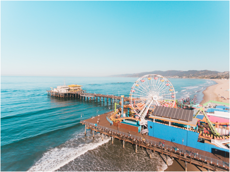 Los Angeles 2 Day Itinerary Santa Monica Pier
