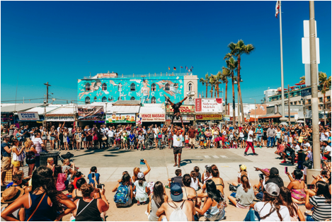 Los Angeles 2 Day Itinerary - Venice Beach