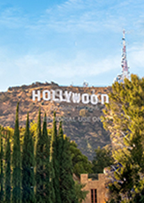 Hollywood sign picture