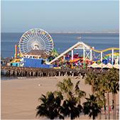 Santa Monica Pier tour