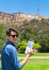 Tourist in LA