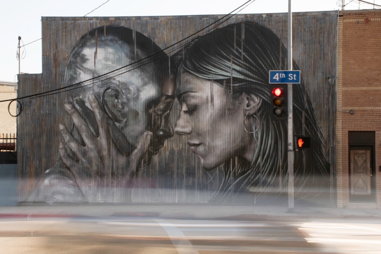 An example of one of the best murals in Los Angeles